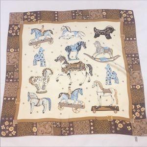 Longchamp Authentic silk scarf Longchamp